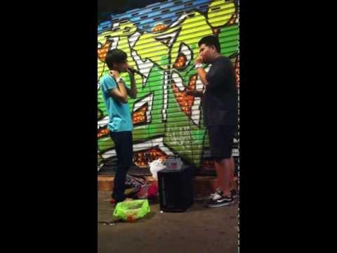 Marg kok&Reeps wa Beatbox@Kao-San Road