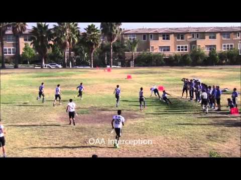 San Diego Academy Cavaliers (6) vs. OAA Spartans (39) 9-10-14 - 09/15/2014