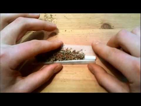 How to roll a joint inside out / The Amsterdam way (HD-1080p)