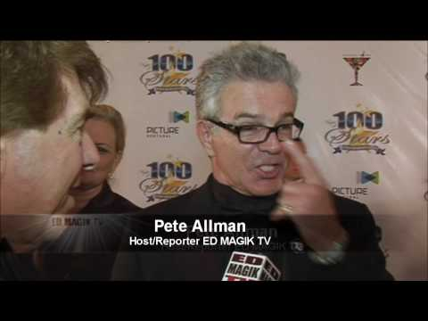 Tony Denison Celebrity Interview at Night of 100 Stars Video