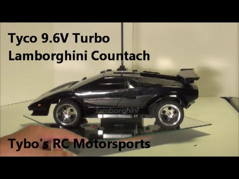 Tyco Lamborghini Countach 9.6V Turbo RC.... Tybo's RC Motorsports  Pure RC 4x4