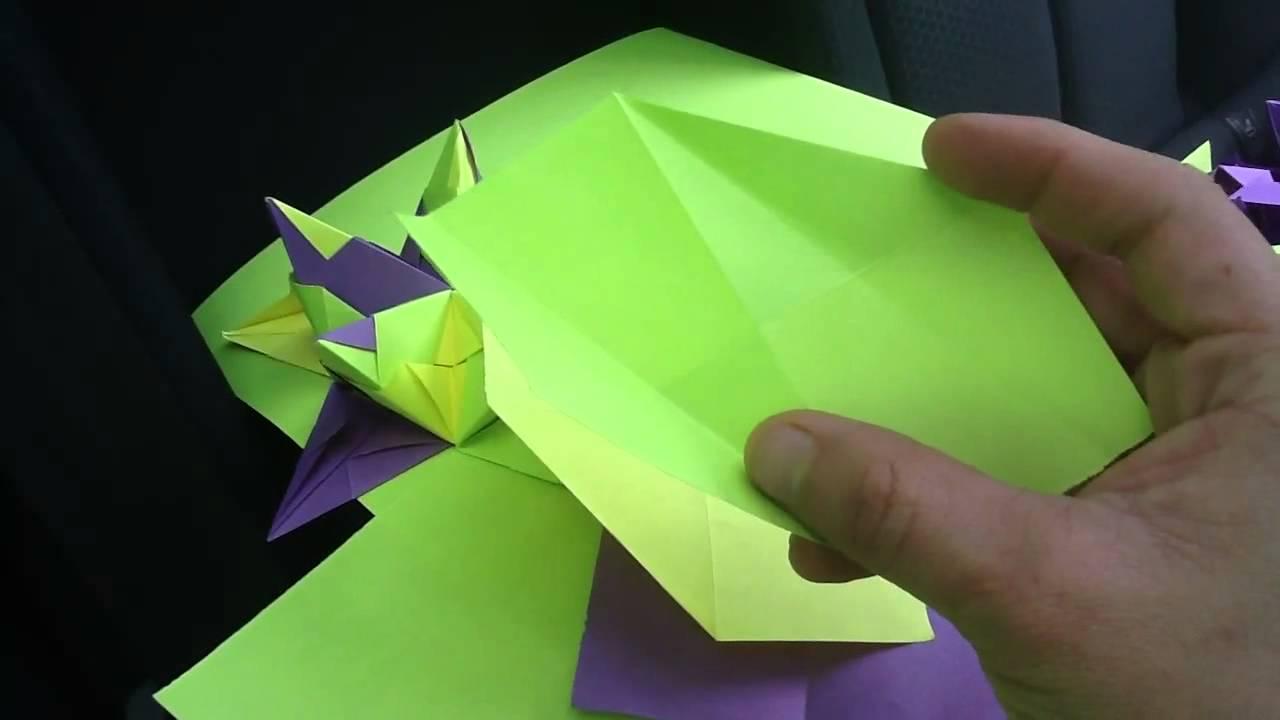 Como hacer una estrella de origami 3d de papel paso a - Origami de una estrella ...