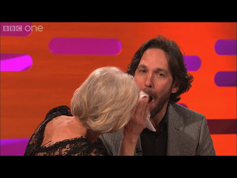 Paul Rudd kisses Dame Helen Mirren - The Graham Norton Show - Series 12 Episode 14 Preview - BBC One