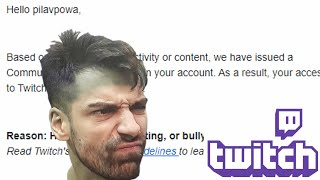 Why I Got Banned On Twitch During My First Stream