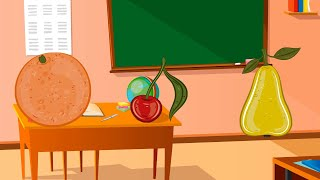 Teach babies: fruits | Learning for babies: fruits | Educational video for children: fruits