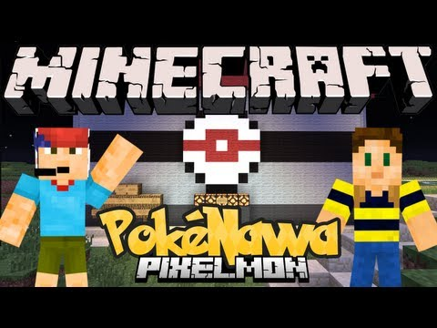 Minecraft - Poknawa! (Pokmon Pixelmon Mod Server)