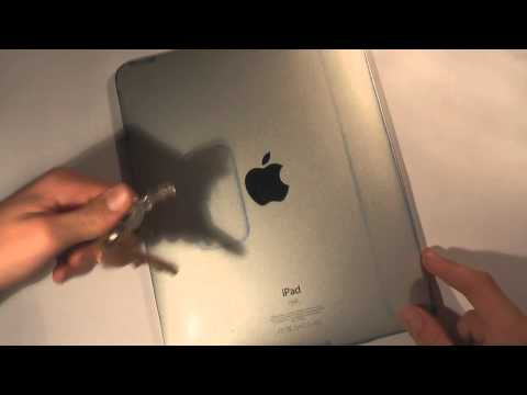 Wrapsol For iPad After 6 Months - Scratch Test & Removal