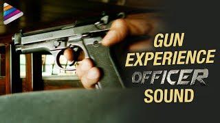 GUN - Experience OFFICER Sound | RGV | Nagarjuna | Myra Sareen | #Officer | Telugu Filmnagar