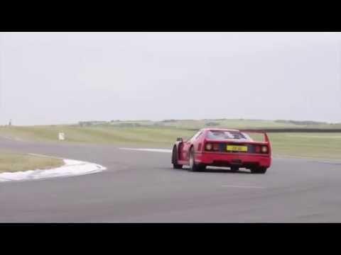 Ferrari F40 v Ferrari F50  Like You've Never Seen Them Before  CHRIS HARRIS ON CARS