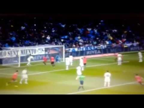 Ruben Pardo Goal - Real Madrid vs Real Sociedad 2-1  ( La Liga 31/01/2015 )