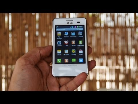 LG Optimus L3 Dual E405 Hands On Review