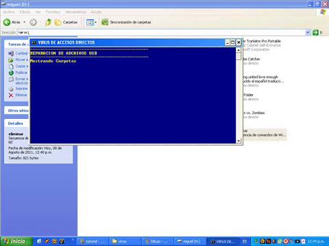Como eliminar virus de acceso directo forma mas facil (100% funciona)(no borra sus archivos)