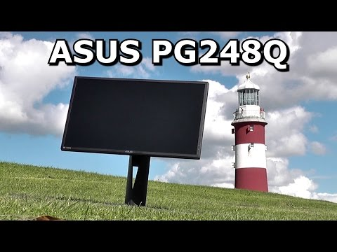 Asus PG248Q Unboxing and Testing