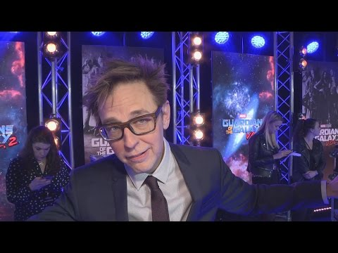 James Gunn Does Awesome Baby Groot Dance At Guardians Of The Galaxy 2 Premiere!