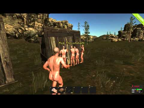 RUST (Simon Says) - Naked Guys Doing Weird Shit For a Prize