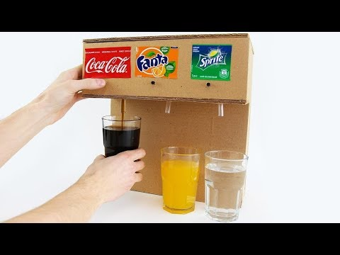 How To Make Coca Cola Soda Fountain Machine With 3