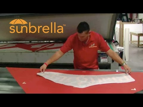 Sunbrella Awning & Umbrella Logo Decals and Graphics | AdGraphics, South Florida