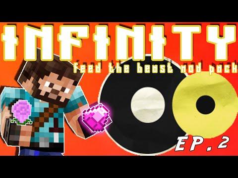 FTB Infinity Let's Play S1E2 - Botania/Tinkers Construct