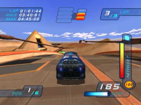 Hot Wheels World Race Level 12 of 15 Pyramid Run