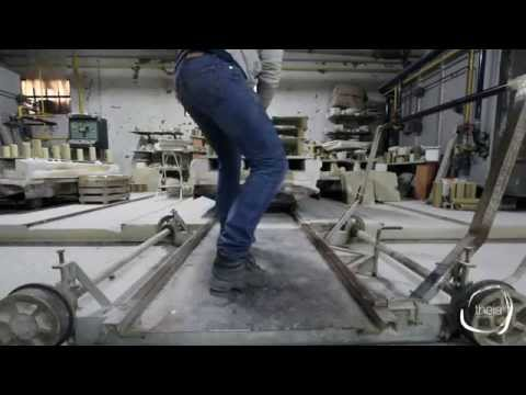 Theia - ceramic tiles making of