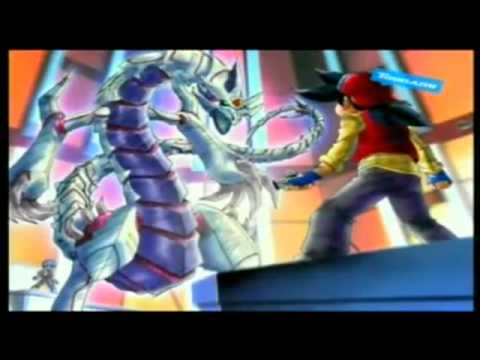 Beyblade V-force - Tyson Vs Kane Round 2 video