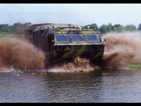 Extreme AMPHIBIOUS Russian offroad vehicle: Aton