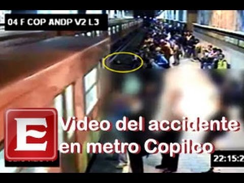 Video del accidente en la estación del metro Copilco - Excélsior En Línea