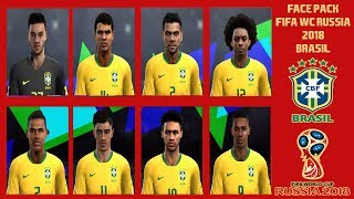 PES 2013 ● New Face Pack Brasil FIFA WC RUSSIA 2018/2019 HD