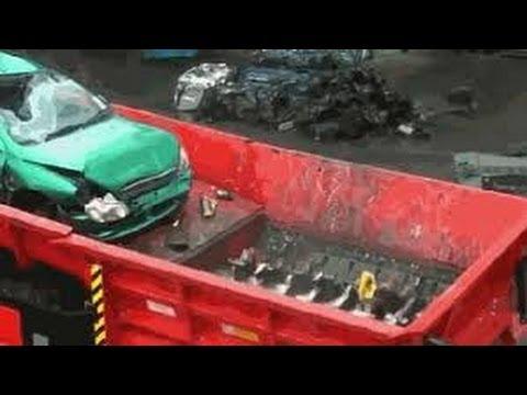 Утилизации автомобилей  Мобильно и жутко  utilization of cars