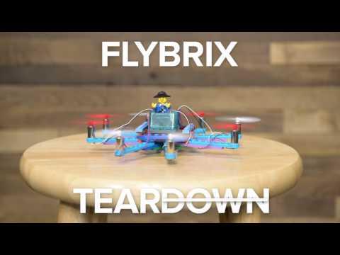 Flybrix Lego Drone Teardown(Or... Up?)