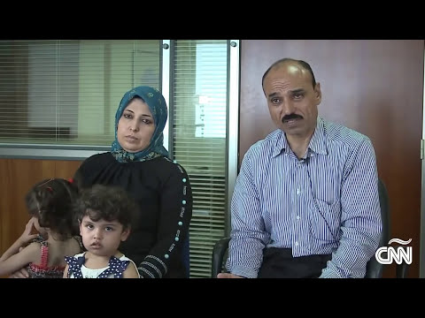 Refugiados sirios en busca de un nuevo hogar