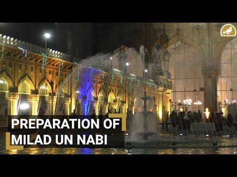 Hyderabad decked for Milad un nabi
