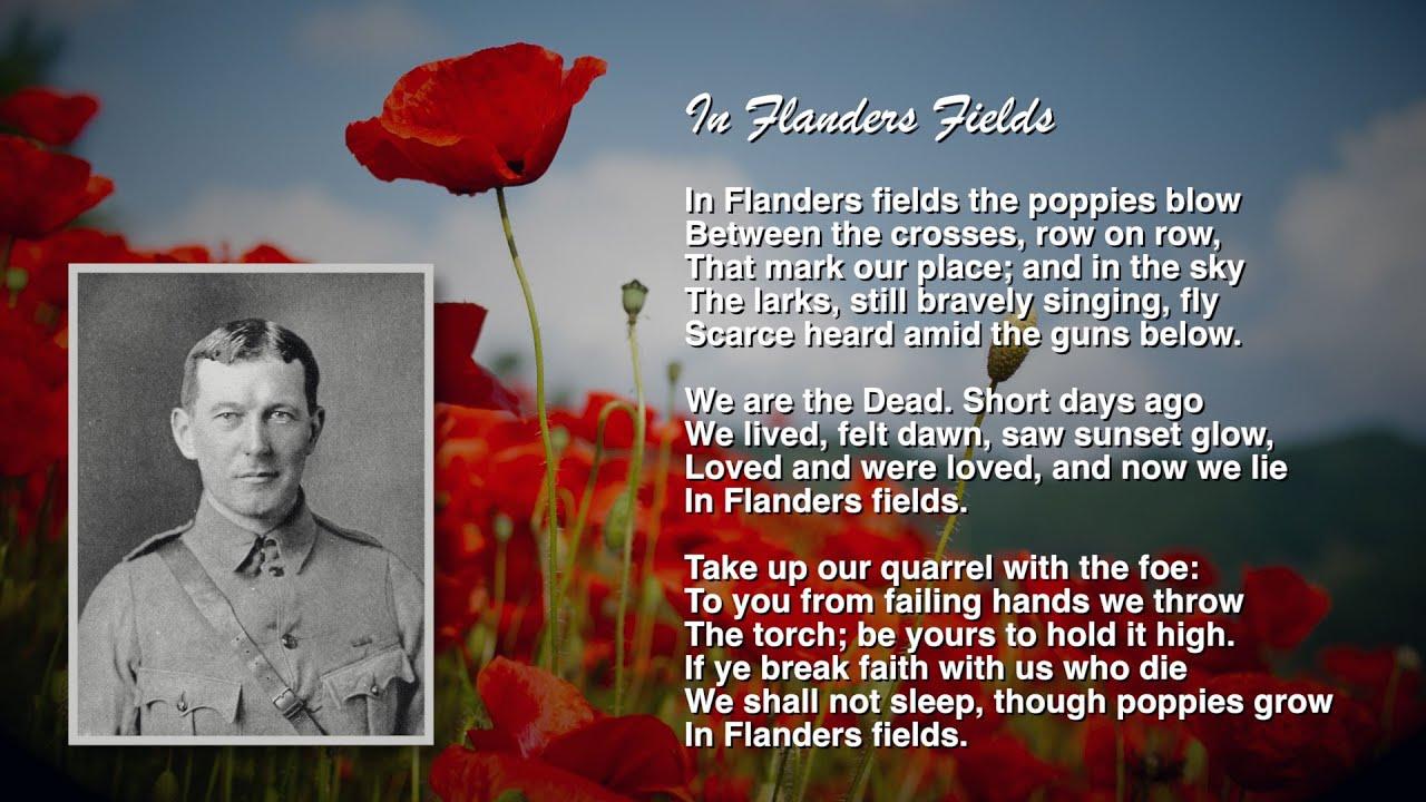 world war one poem essays