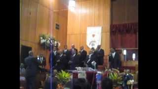 Trouble In My Way - NHBC Men's Choir