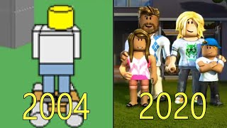 Evolution of Roblox 2004-2018