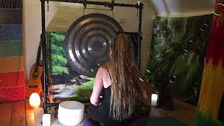 Soundbath ASMR Music (Instrumental) for Emotional Release & Healing with Gong & Crystal Singing Bowl