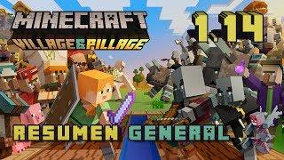 Minecraft 1.14 – Village & Pillage Update – Resumen general