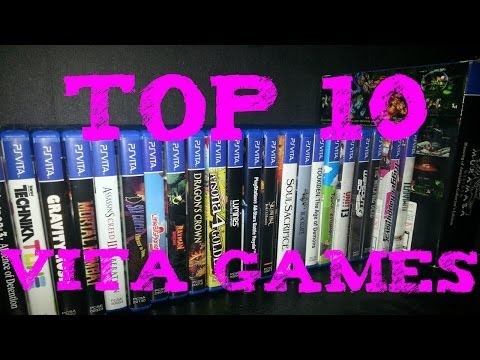 Top 10 Playstation Vita Games