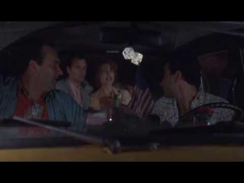 Quick Change - cab scene Randy Quaid, Tony Shalhoub, Geena Davis, Bill Murray