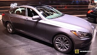2017 Genesis G80 3.8 - Exterior and Interior Walkaround - 2016 Chicago Auto Show