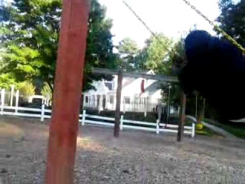 Swinging at the park part 1