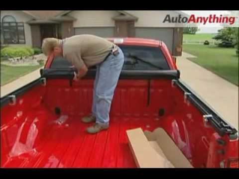 Ford F150 2010 >> How to Install TruXedo TruXport Roll-Up Tonneau Cover on a Ford F150 - YouTube