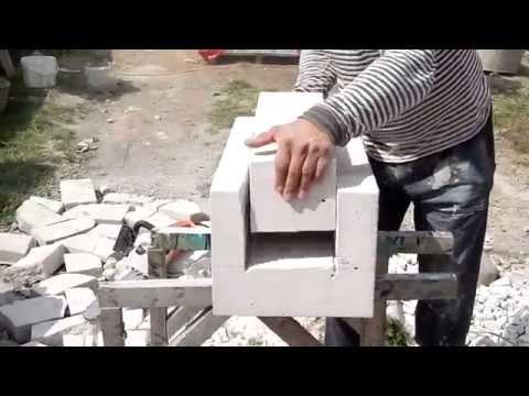 Пенобетонные блоки как сделать своими руками