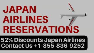 Japan Airlines Reservations | Number | Manage Flight Booking