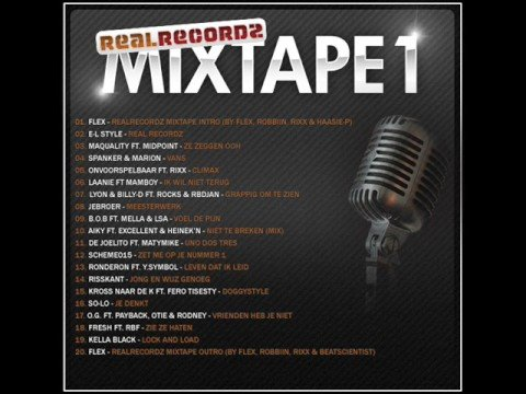 20. Flex - Realrecordz mixtape outro (by Flex, Robbiin, Rixx