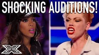 TOP Shocking Auditions From X Factor Global!