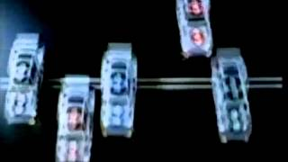 Duracell Batteries Advert Racing Cars from 1985