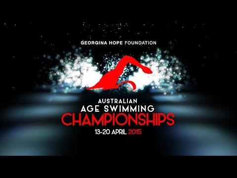 Georgina Hope Foundation 2015 Australian Age Swimming Championships - Day 5 Finals video