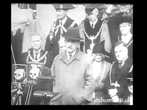 Sir James Matthew Barrie, Unveiling A Statue Of Thomas Hardy, 1931 video