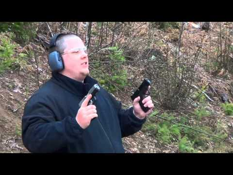 S&W M&P Shield 9mm vs Kahr CW9 Dual Wield Rapid Fire